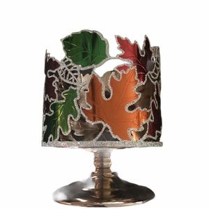 Bath & Body Works autumn leaves candle holder
